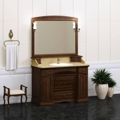Комплект мебели Opadiris Лучия 120 орех антикварный (мраморная столешница)
