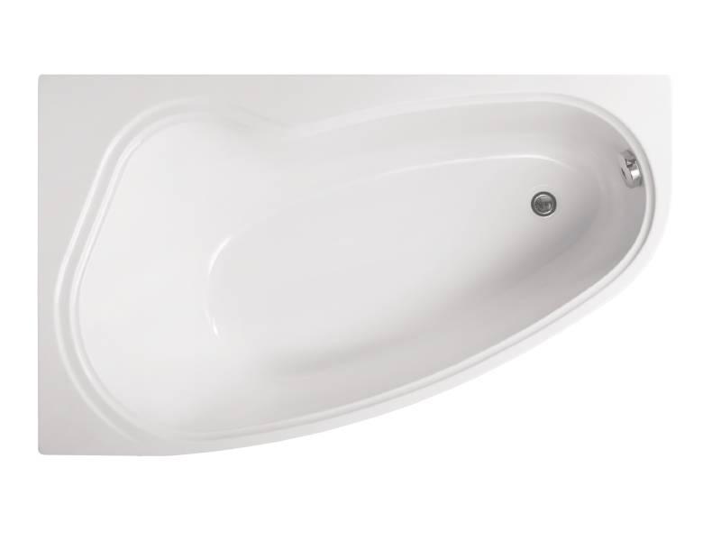 Акриловая ванна Vagnerplast Avona левая 150x90x43 см