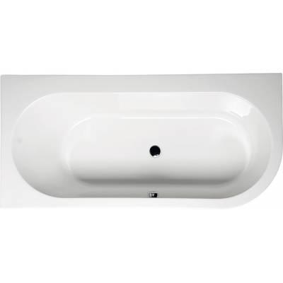 Акриловая ванна Alpen Astra 165x80 L левая
