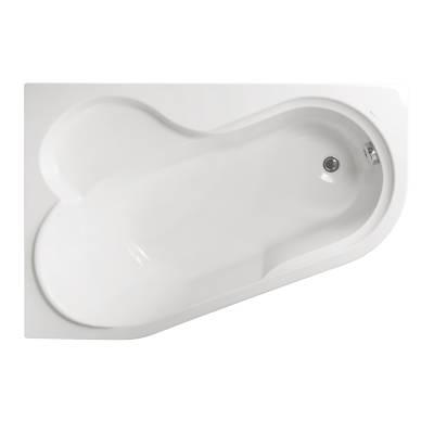Акриловая ванна Vagnerplast Selena 147x100x43 левая