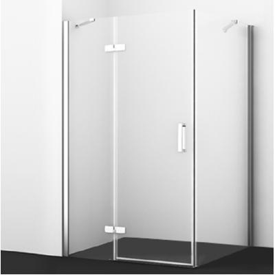 Душевой уголок с распашной дверью 120x100 Wasserkraft Aller WHITE 10H10LW