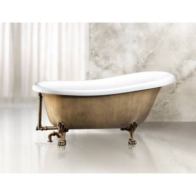 Ванна акриловая Belbagno 170x80x81 см BB04 бронза
