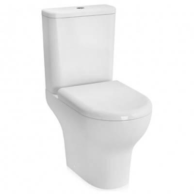 Унитаз безободковый Vitra Zentrum 9824b003-7206 со стандартным сиденьем