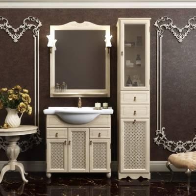 Комплект мебели Opadiris Тибет 80 слоновая кость