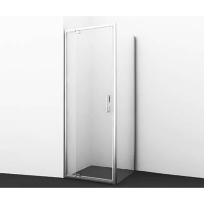 Душевой уголок с распашной дверью 90x90 Wasserkraft Berkel 48P03