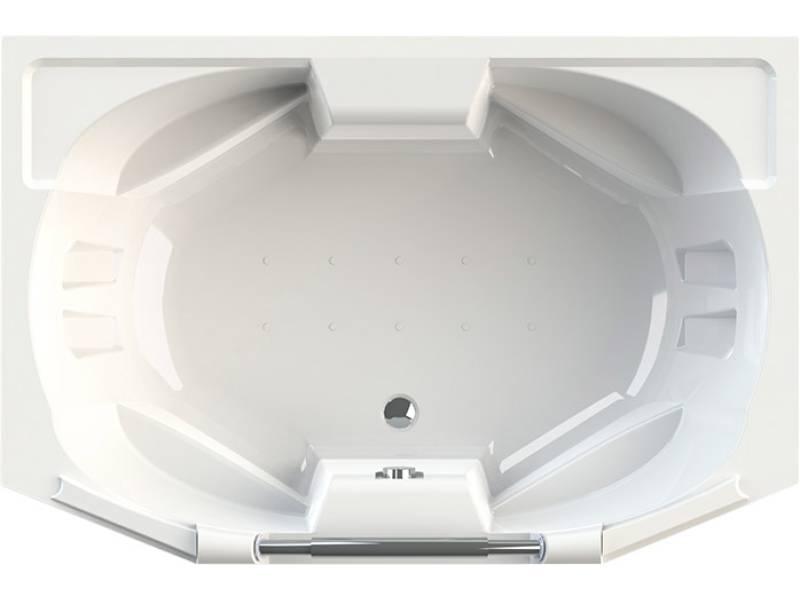 Акриловая ванна Radomir Конкорд 180x120 см