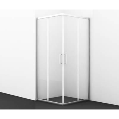 Душевой уголок с раздвижными дверьми 90x90 Wasserkraft Main 41S03