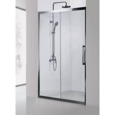 Душевая дверь 120Aquanet Delta NPE6121 прозрачное стекло