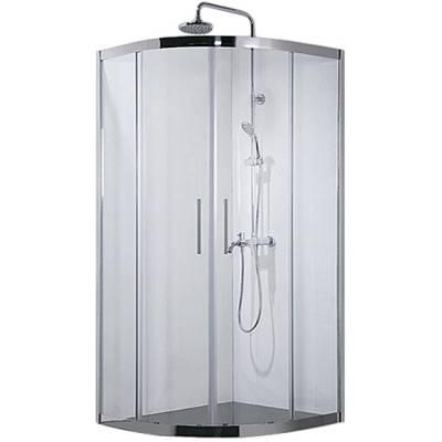 Душевой уголок 100x100 Aquanet Delta NPE2142 прозрачное стекло