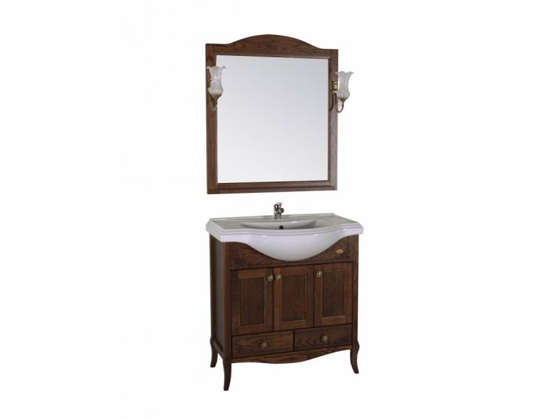 Комплект мебели ASB-Woodline Салерно 80 антикварный орех
