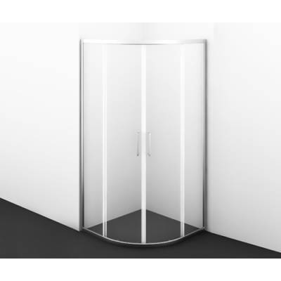 Душевой уголок с раздвижными дверьми 90x90 Wasserkraft Main 41S01