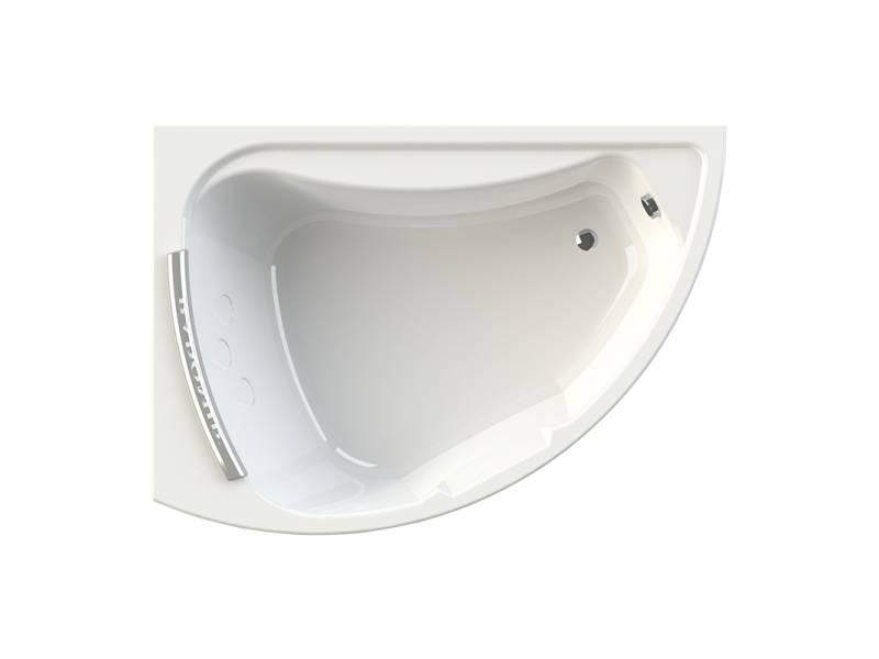Акриловая ванна Radomir Альбена 168x120 см левая