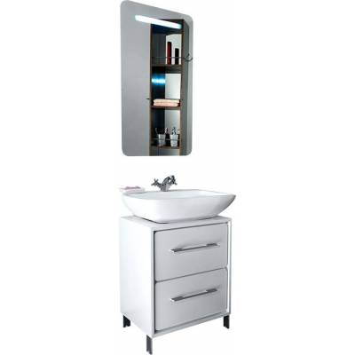 Мебель для ванной Timo Lappi White 14155