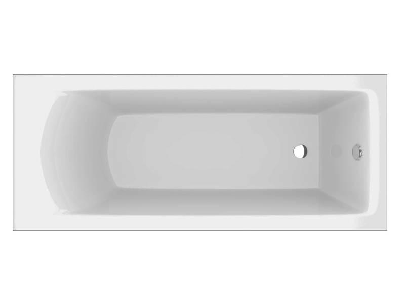 Акриловая угловая ванна Vayer Savero 180x80 см