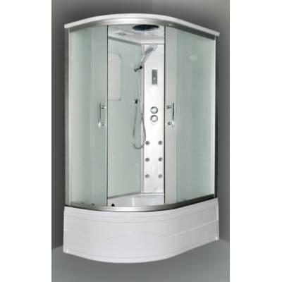 Душевая кабина Wasserfalle AD-BOX 100x80 L белая