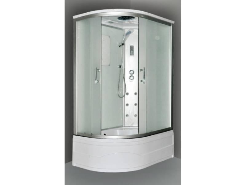 Характеристики Душевая кабина Wasserfalle AD-BOX 100x80 L белая