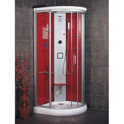 Душевая кабина Wasserfalle LM-832G красная