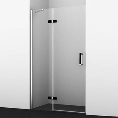 Душевая дверь 120черная Wasserkraft Aller BLACK MATT 10H05RB