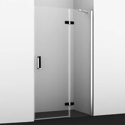 Душевая дверь 120черная Wasserkraft Aller BLACK MATT 10H05LB